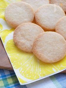 サクサクレモンの米粉クッキー(小麦・卵・乳製品不使用)