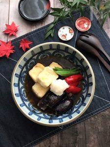 めんつゆでお手軽♪揚げ出し豆腐&茄子