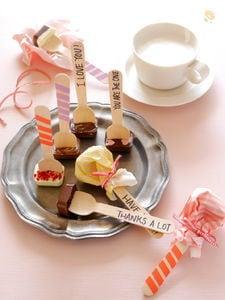 板チョコで作る!スプーンチョコ