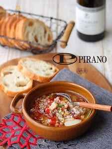 のっけて食べる具だくさんオリーブオイル~魚介とトマト~