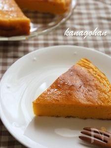【120kcal】簡単ヘルシー*かぼちゃとヨーグルトのケーキ