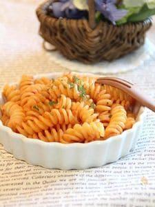 お弁当の隙間埋めに。マカロニのケチャップ炒め