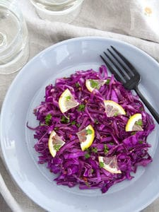 紫キャベツのマリネ
