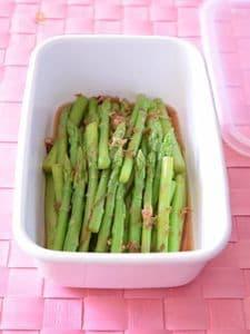 ミニアスパラガスのおひたし 作り置きレシピ