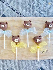 濃厚☆生チョコケーキポップ