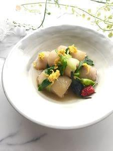 冬瓜と豚バラ肉の奉書巻き煮