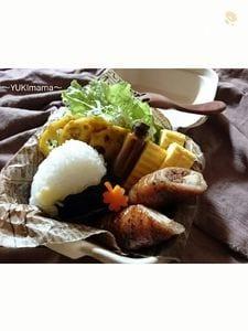 お弁当に〜豚バラロールinねぎ切り干大根(作りおき常備菜)〜