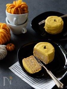 パンプキンビスケットケーキ