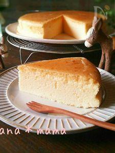 やっと納得!!シュワシュワ~♪スフレチーズケーキ♪