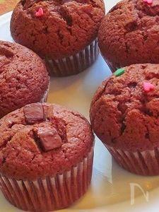 プレーン&ミント味のチョコケーキ♪
