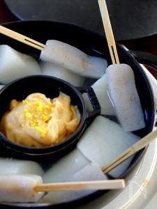 ふろふき大根にぴったりの柚子味噌