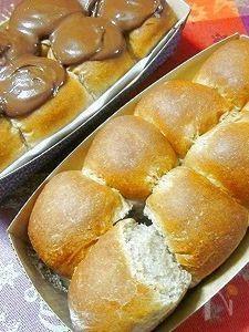 チョコ&チョコこんがりなちぎりパン♪
