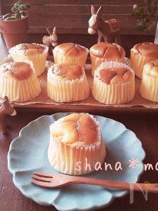 ふわっしゅわ~♪濃厚スフレチーズケーキ♪