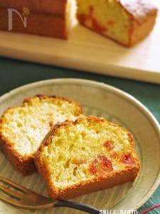 塩トマト(ドライ)とパセリのケーキ
