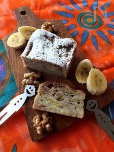 簡単❣️南国の香り♪バナナ&ココナッツのガトー・インビジブル