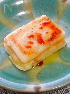醤油が決め手!マッシュポテトサンド餅