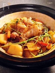 鶏手羽元と野菜と春雨のスープ煮込み
