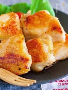 お箸が止まらん♪『むね肉 de ガーリック塩チキン』
