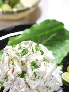 すだちが香る レンコンのサラダ