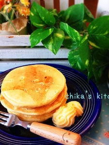 朝から幸せ♡ヘルシー⁈なふわもち豆腐パンケーキ♡