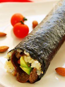 恵方巻き2015~牛肉とアボカドわさび風味