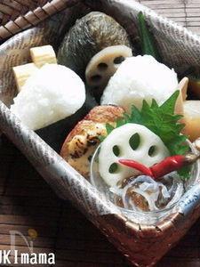 お弁当に〜鮭のグリル味噌チーズソース〜