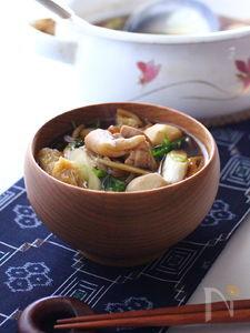 秋田の芋のこ汁