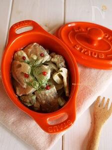 れんこんとアボカドの明太サラダ