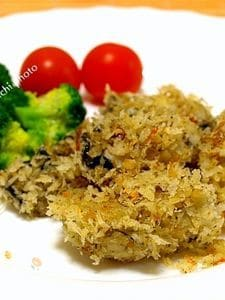 豪快に作ろう「牡蠣の簡単香草パン粉焼き」
