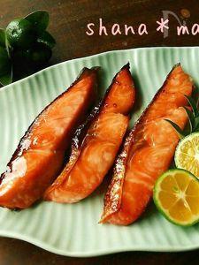おかわりが止まらない!!秋鮭の甘辛にんにく味噌漬け♪