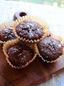 夏なら冷やして!紅茶葉とチョコのカップケーキ