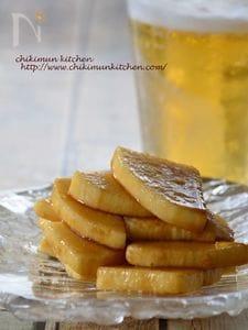 長芋の即席オイスターソース漬け
