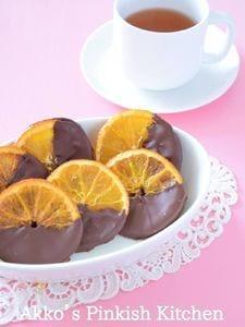 『オランジェショコラ』♡ショコラティエのオレンジチョコレート