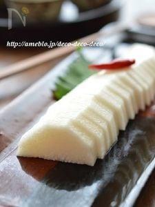 簡単漬けるだけ!「長芋のわさび漬け」~秋の食養生におすすめ!