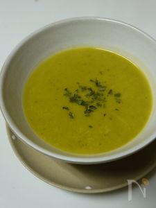 かぼちゃとお豆のポタージュ