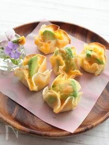 アボカドチーズのひとくちおつまみ
