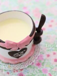 アイスで作る時短ババロア