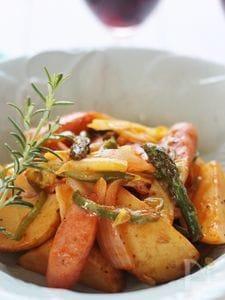 春野菜たっぷりのナポリタン風炒め