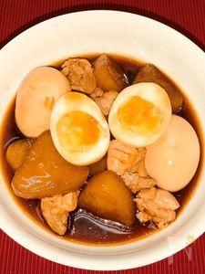 鶏とだいこんの照り煮