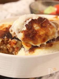 山芋ソースで作る ミートドリア