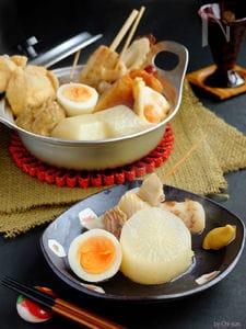 ちょこっと手抜き♡美味しい関西風おでん!【うどんスープ】
