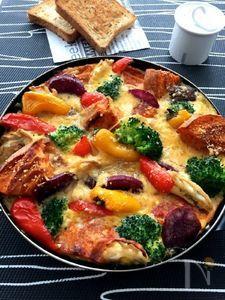 お野菜たっぷり麩・リッタータ(フリッタータ)