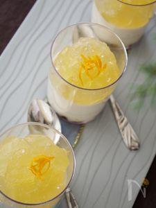さっぱり塩レモンレアチーズムース