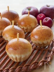 りんごのクリームパン♡