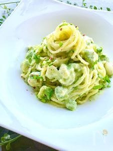 レモンヨーグルトパスタ
