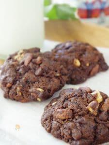 大人のアメリカンチョコチップクッキー