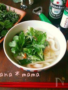 麺から作るよ♪つるっもち♪簡単ベトナムフォー♪