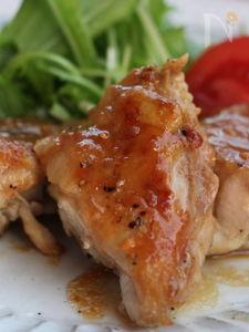 鶏もも肉の甘味噌だれ焼き