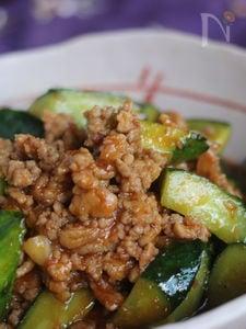 胡瓜のテンジャン味噌炒め