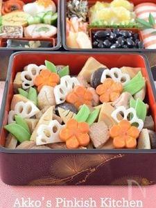 煮しめ お正月用 甘くないおせち料理レシピ
